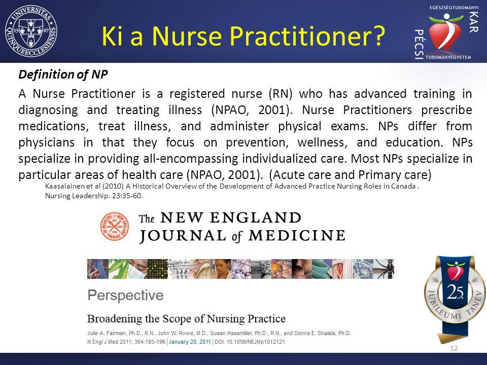 Ki a Nurse Practitioner