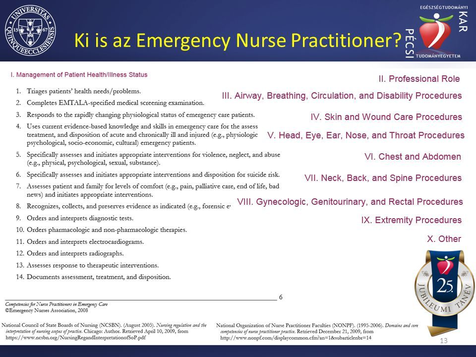 Ki is az Emergency Nurse Practitioner