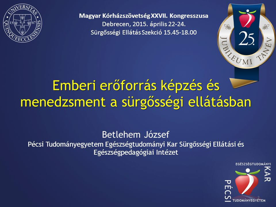 Magyar Kórházszövetség XXVII. Kongresszusa