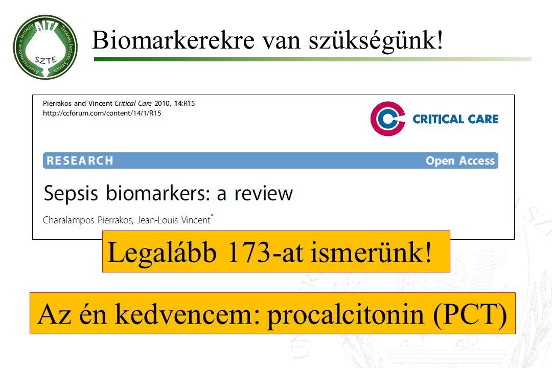 Az én kedvencem: procalcitonin (PCT)