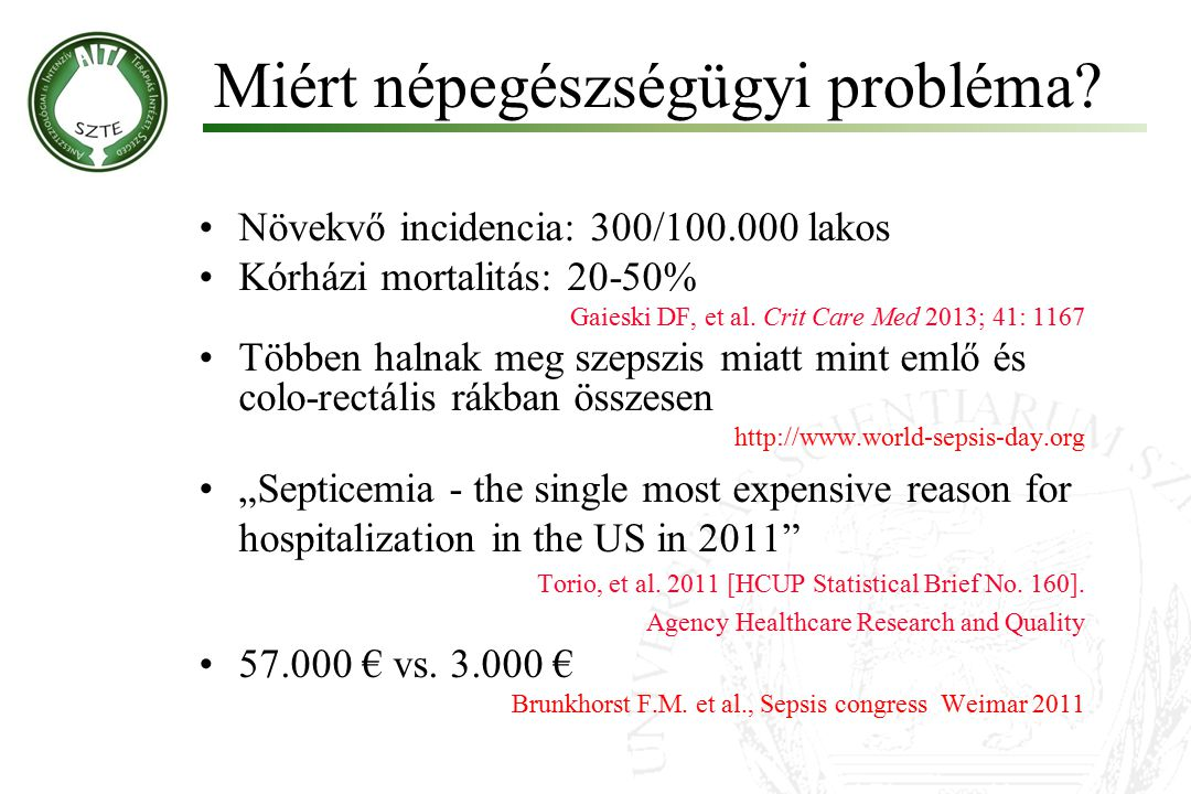 Miért népegészségügyi probléma