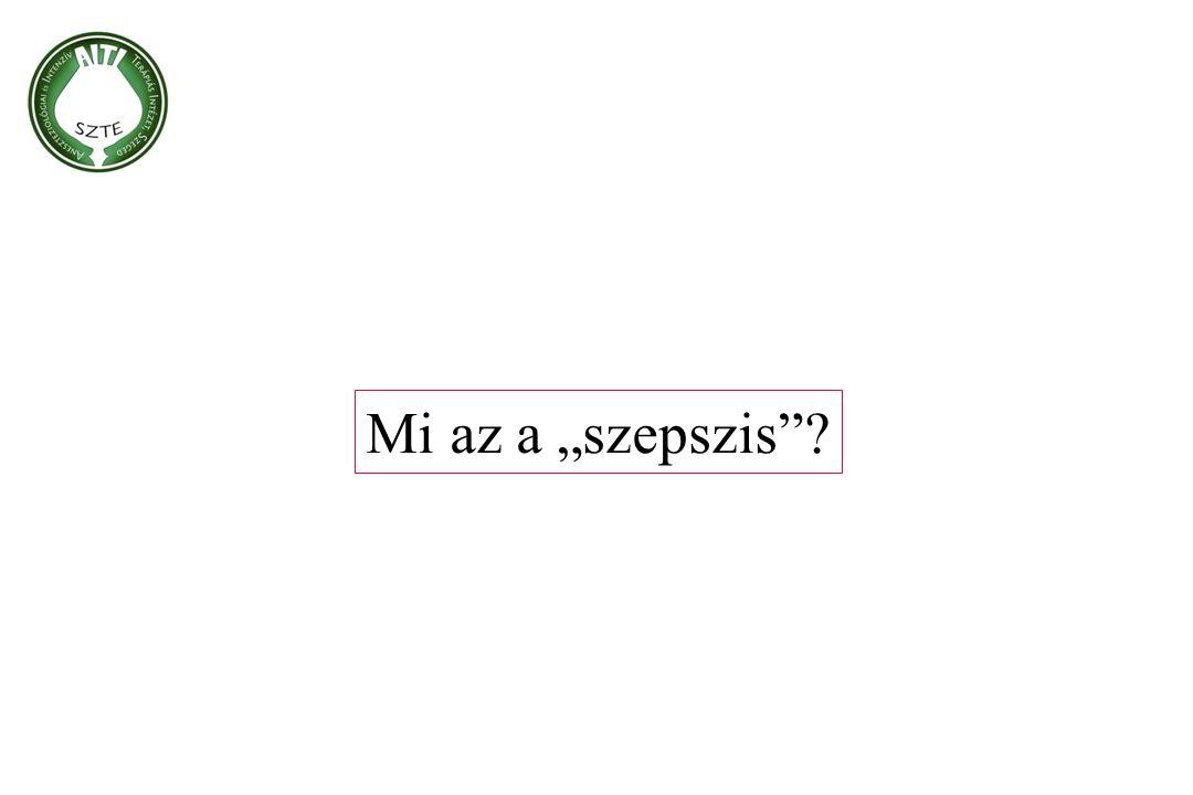"""Mi az a """"szepszis"""