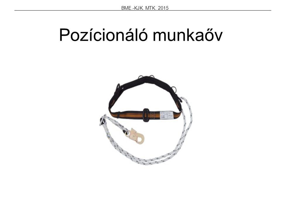 BME.-KJK. MTK. 2015 Pozícionáló munkaőv