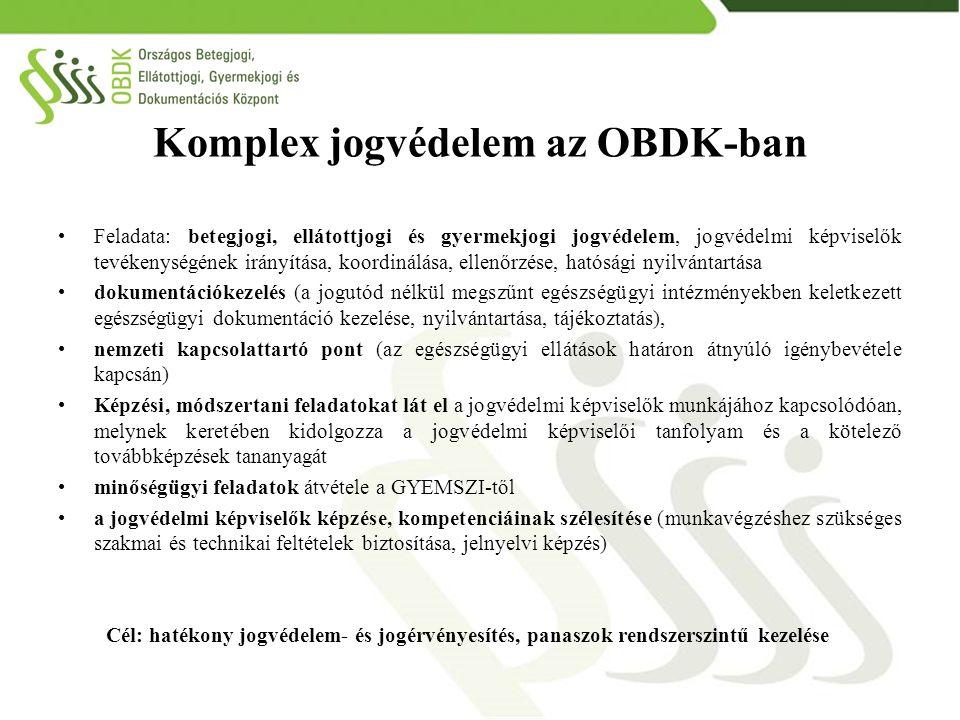 Komplex jogvédelem az OBDK-ban