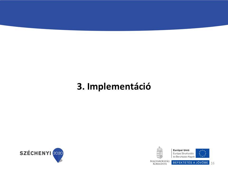 3. Implementáció