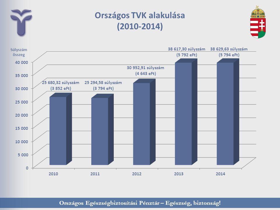 Országos TVK alakulása (2010-2014)