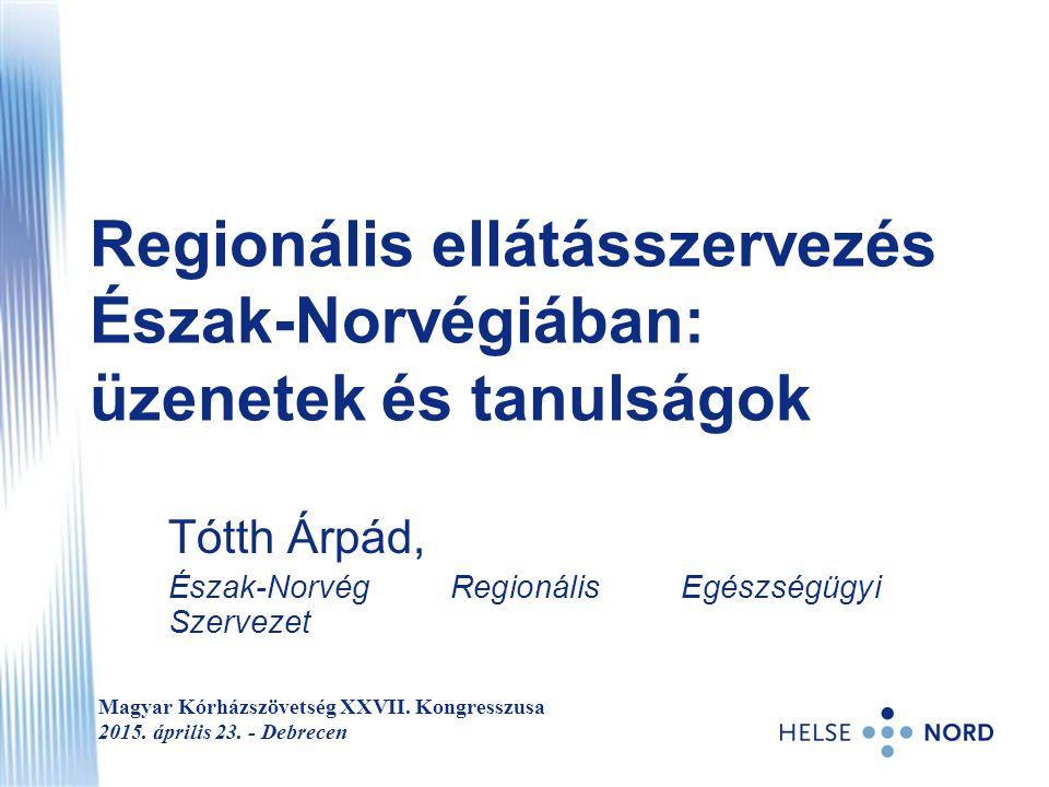Regionális ellátásszervezés Észak-Norvégiában: üzenetek és tanulságok