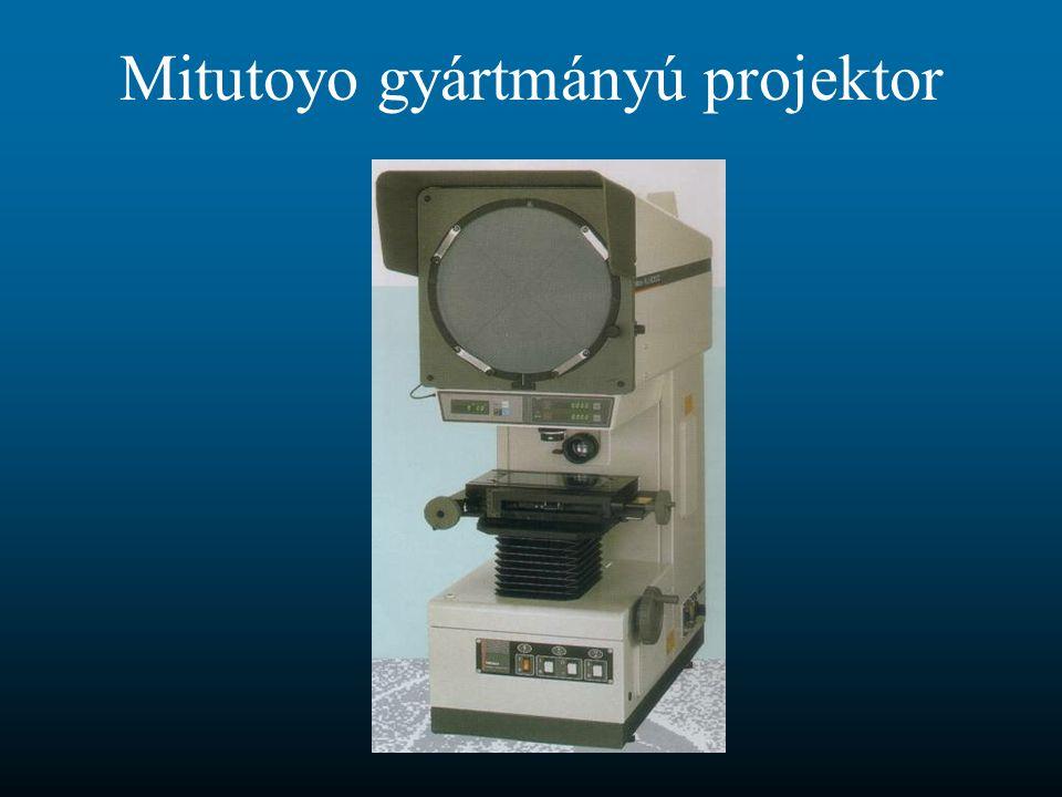 Mitutoyo gyártmányú projektor