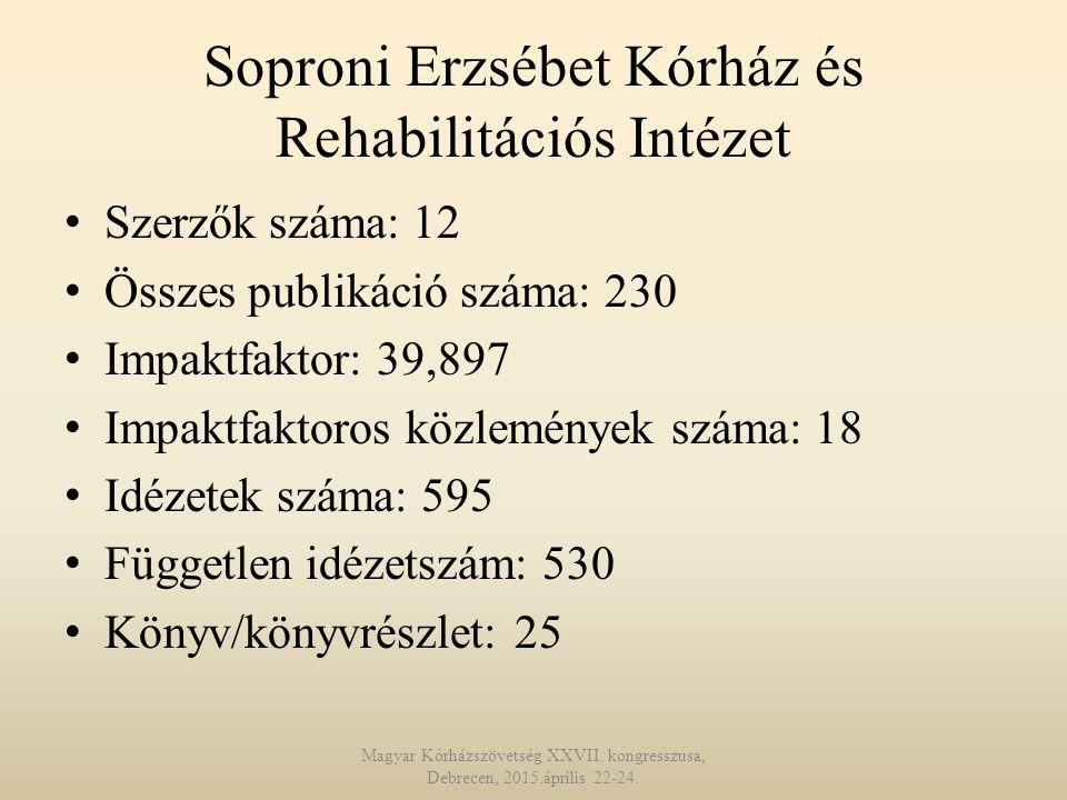 Soproni Erzsébet Kórház és Rehabilitációs Intézet