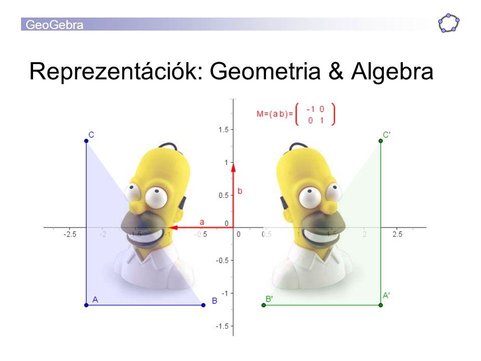 Reprezentációk: Geometria & Algebra