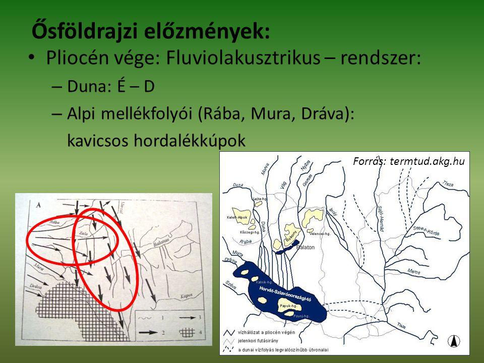 Ősföldrajzi előzmények: