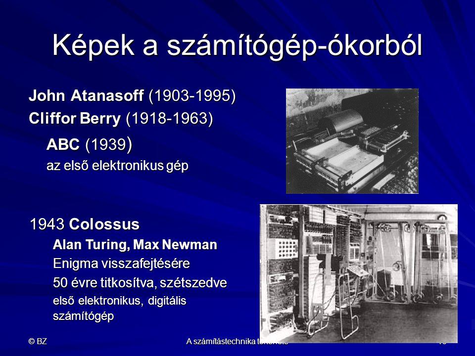 Képek a számítógép-ókorból