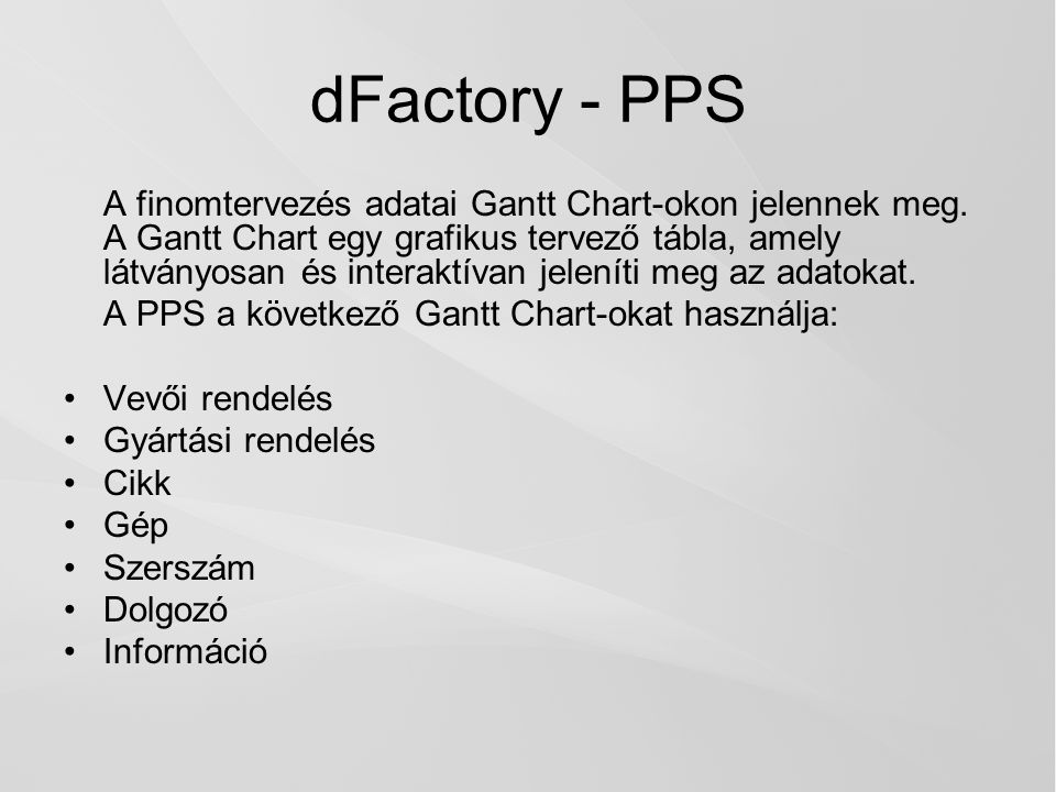 dFactory - PPS