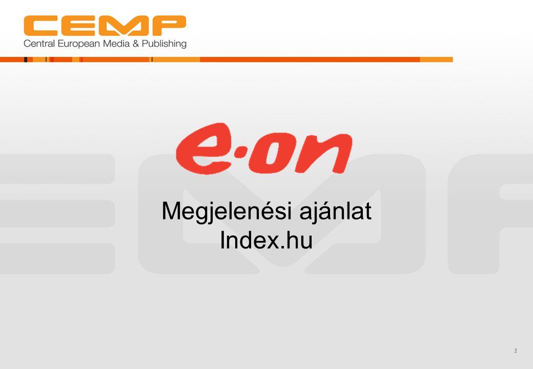Megjelenési ajánlat Index.hu