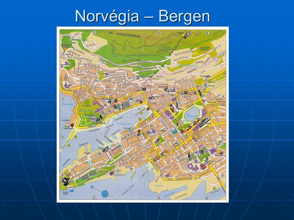 Norvégia – Bergen