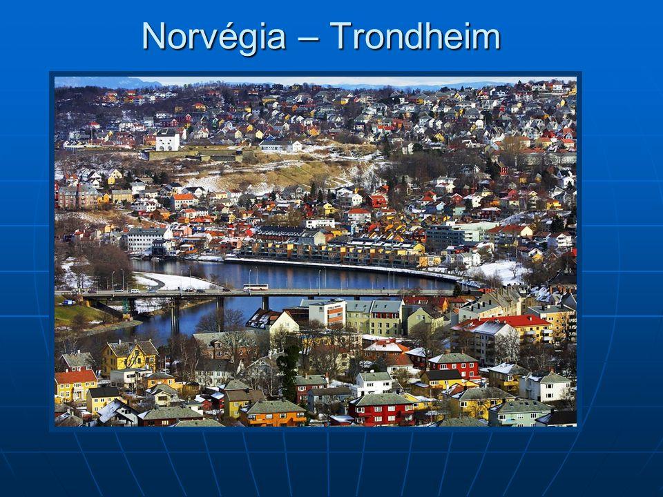 Norvégia – Trondheim