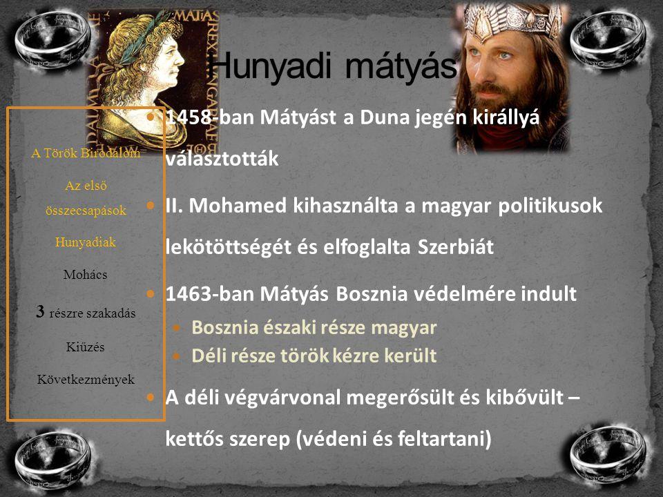 Hunyadi mátyás 1458-ban Mátyást a Duna jegén királlyá választották