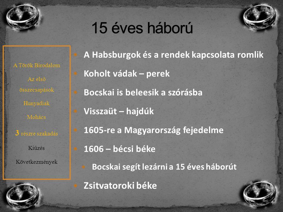 15 éves háború Zsitvatoroki béke