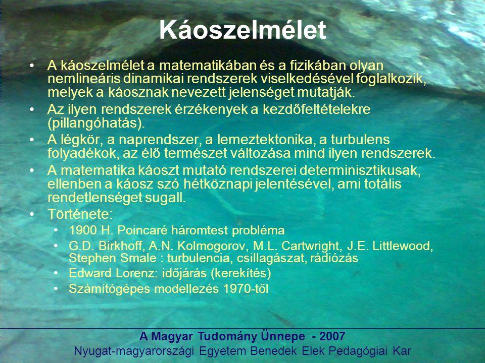 A Magyar Tudomány Ünnepe - 2007
