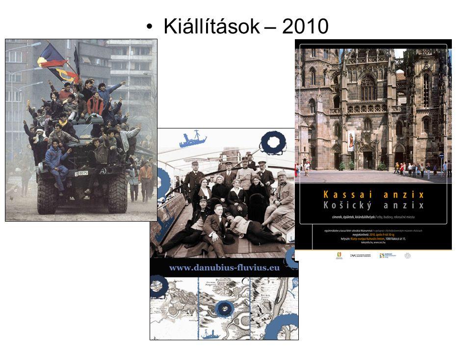 Kiállítások – 2010