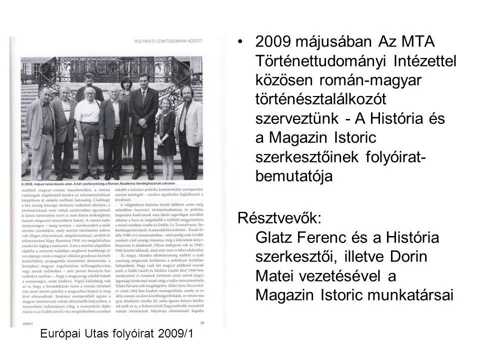 Európai Utas folyóirat 2009/1