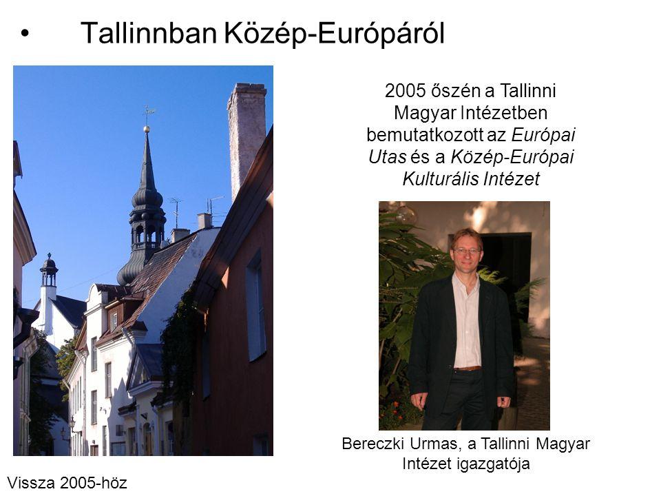 Tallinnban Közép-Európáról
