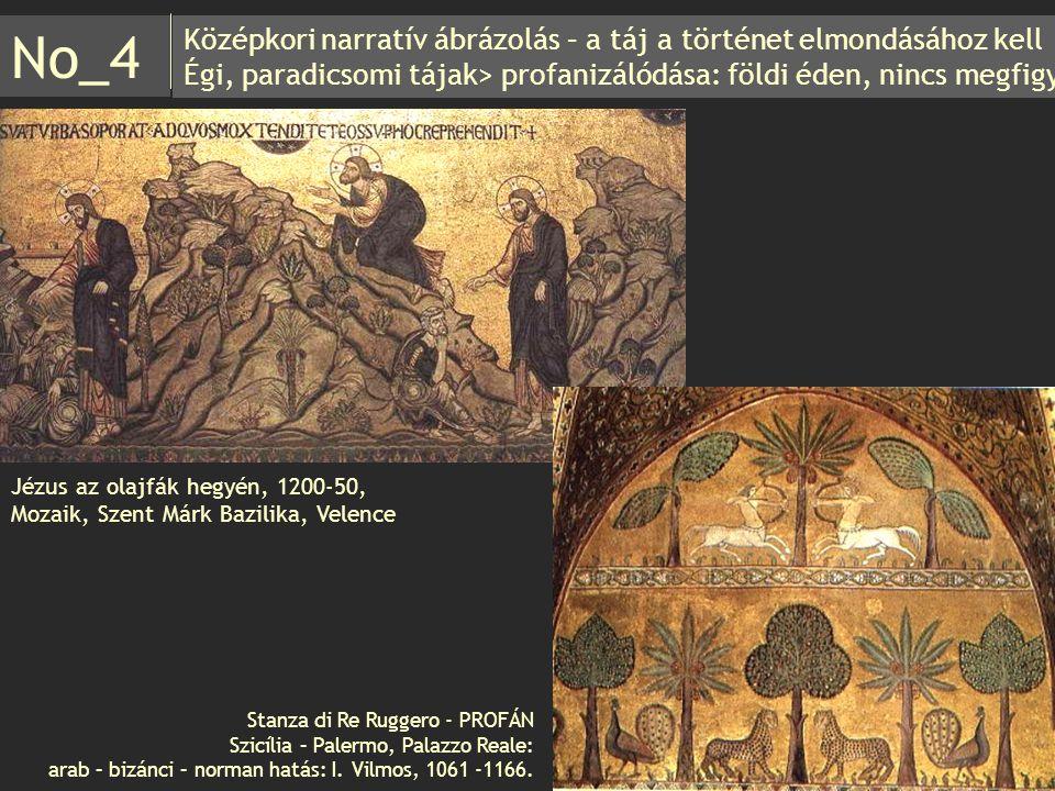 No_4 Középkori narratív ábrázolás – a táj a történet elmondásához kell