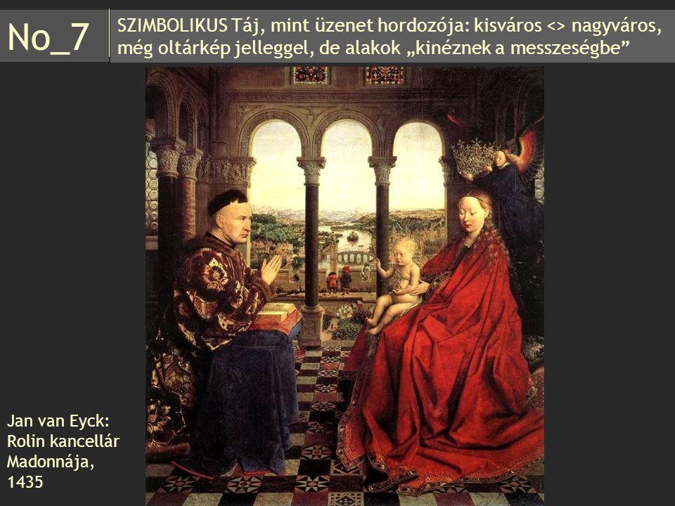 Jan van Eyck: Rolin kancellár Madonnája, 1435