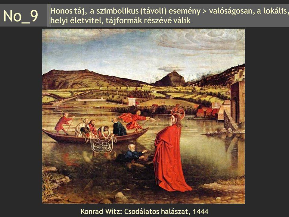 Konrad Witz: Csodálatos halászat, 1444