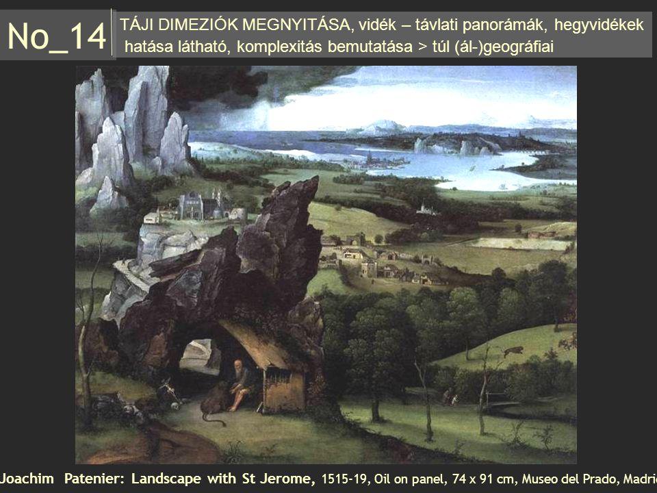 No_14 TÁJI DIMEZIÓK MEGNYITÁSA, vidék – távlati panorámák, hegyvidékek