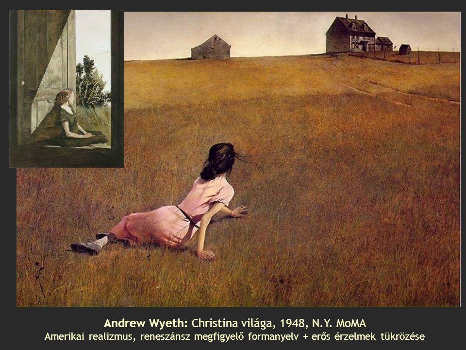 Andrew Wyeth: Christina világa, 1948, N.Y. MoMA