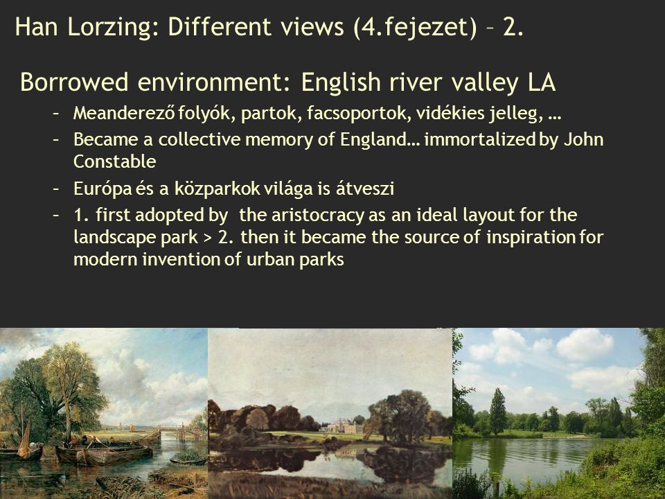 Han Lorzing: Different views (4.fejezet) – 2.