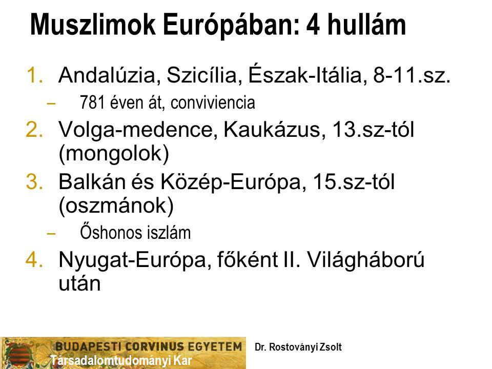 Muszlimok Európában: 4 hullám
