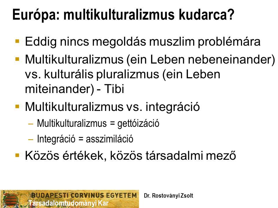 Európa: multikulturalizmus kudarca