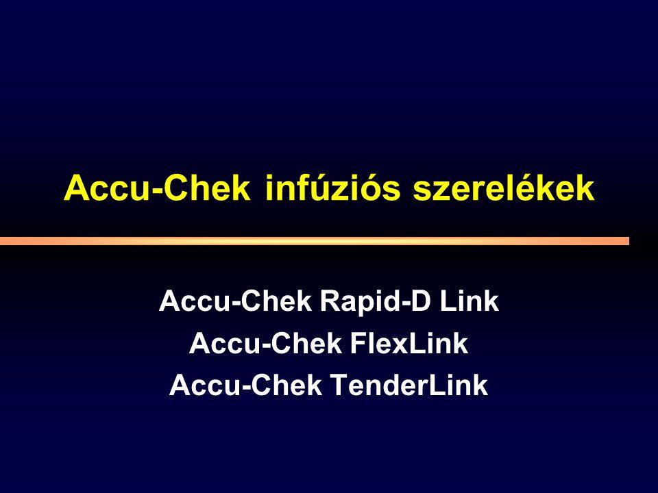 Accu-Chek infúziós szerelékek