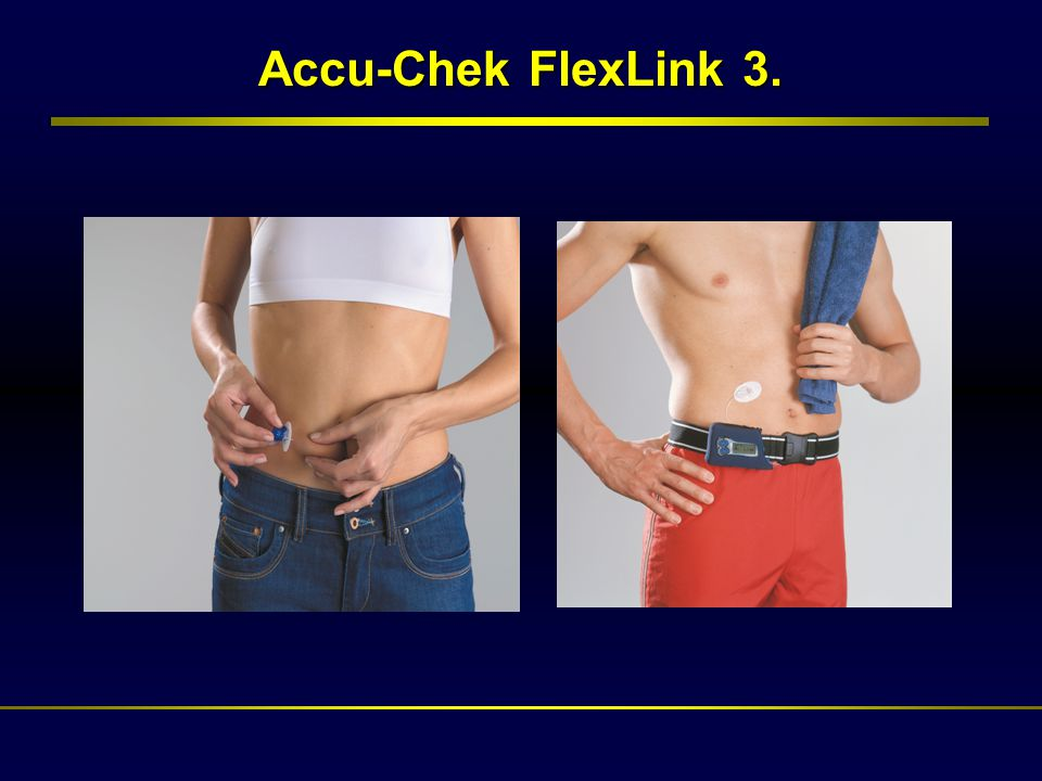 Accu-Chek FlexLink 3.