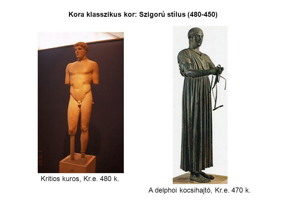 Kora klasszikus kor: Szigorú stílus (480-450)