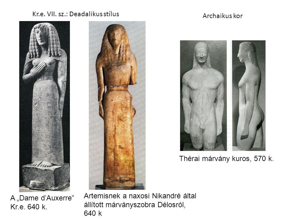 Kr.e. VII. sz.: Deadalikus stílus