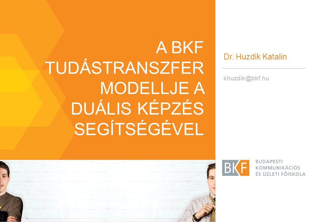 A BKF tudástranszfer modellje a