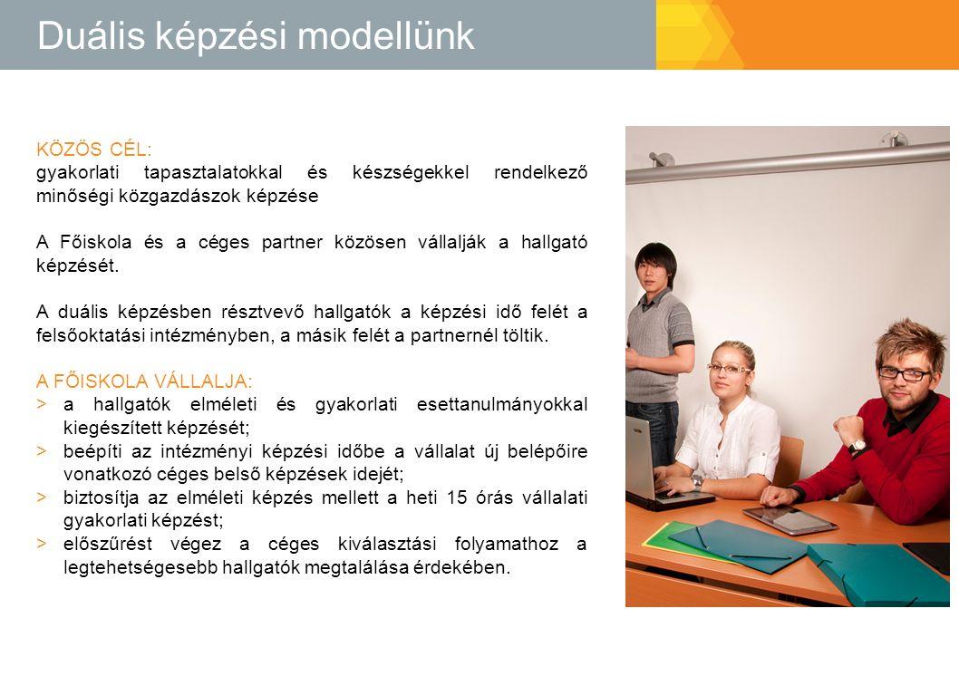 Duális képzési modellünk