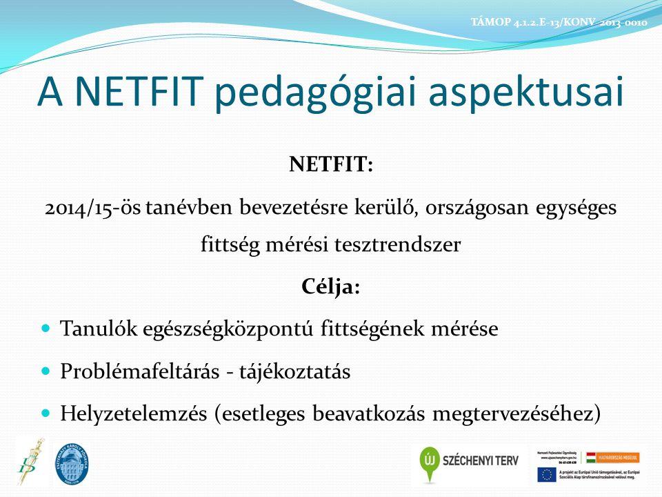 A NETFIT pedagógiai aspektusai