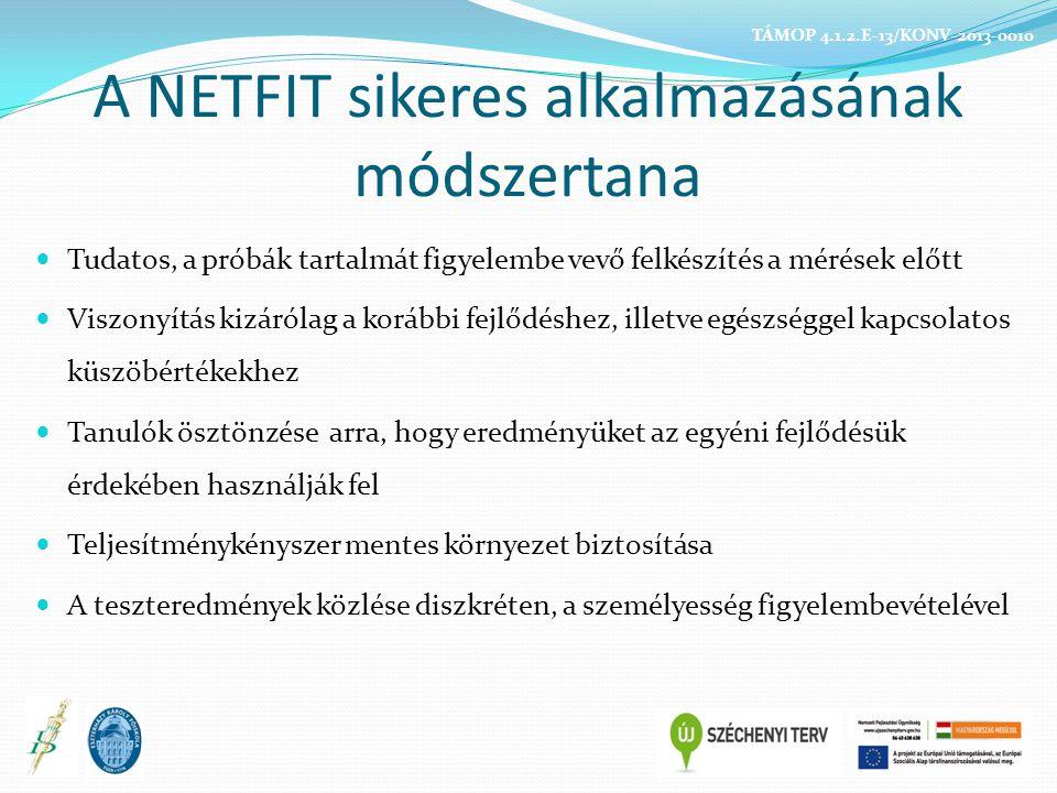 A NETFIT sikeres alkalmazásának módszertana