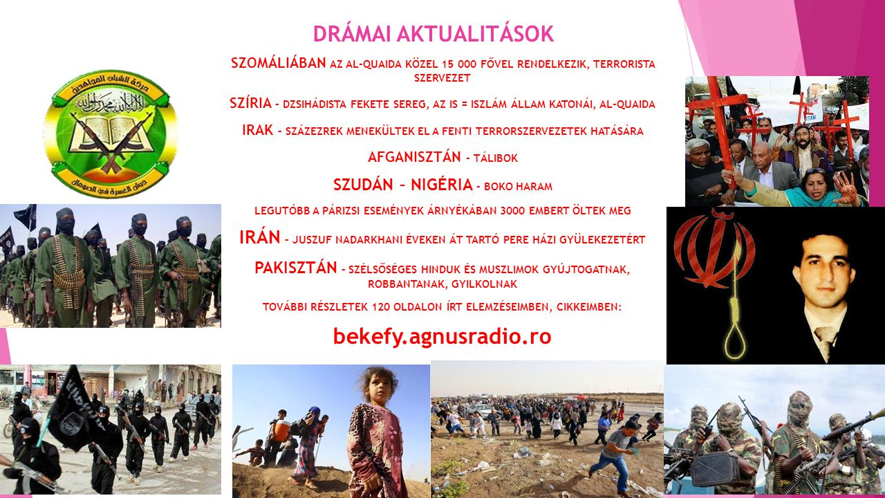 DRÁMAI AKTUALITÁSOK bekefy.agnusradio.ro