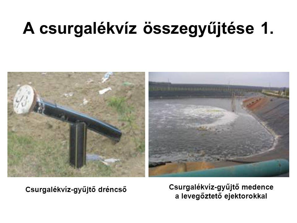 A csurgalékvíz összegyűjtése 1.