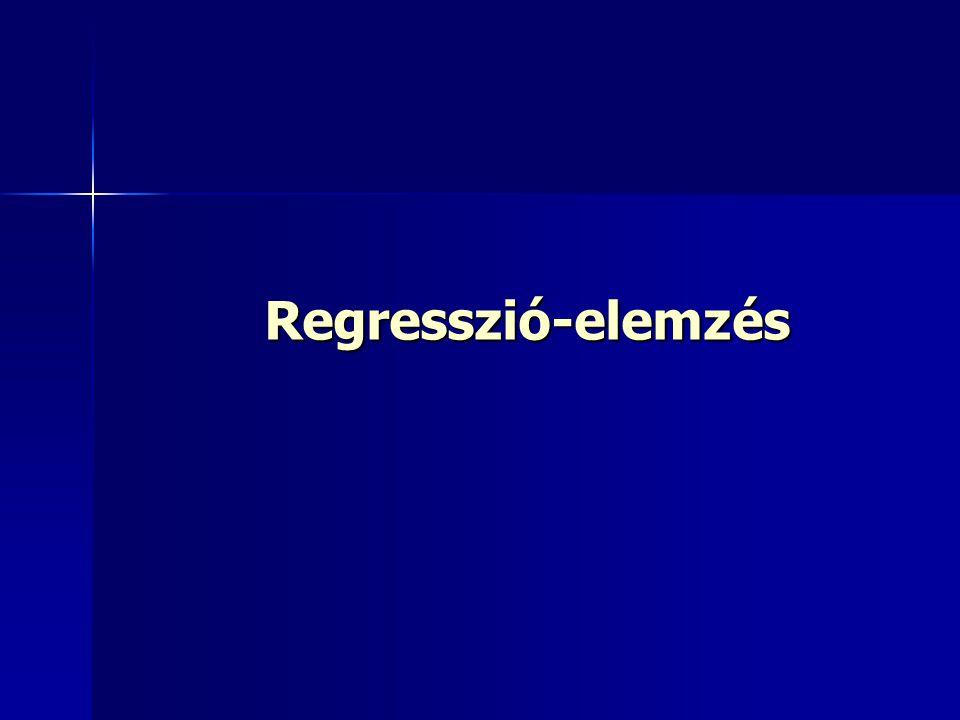 Regresszió-elemzés