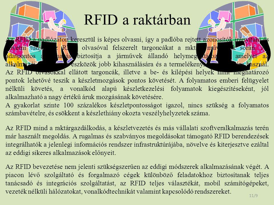 RFID a raktárban