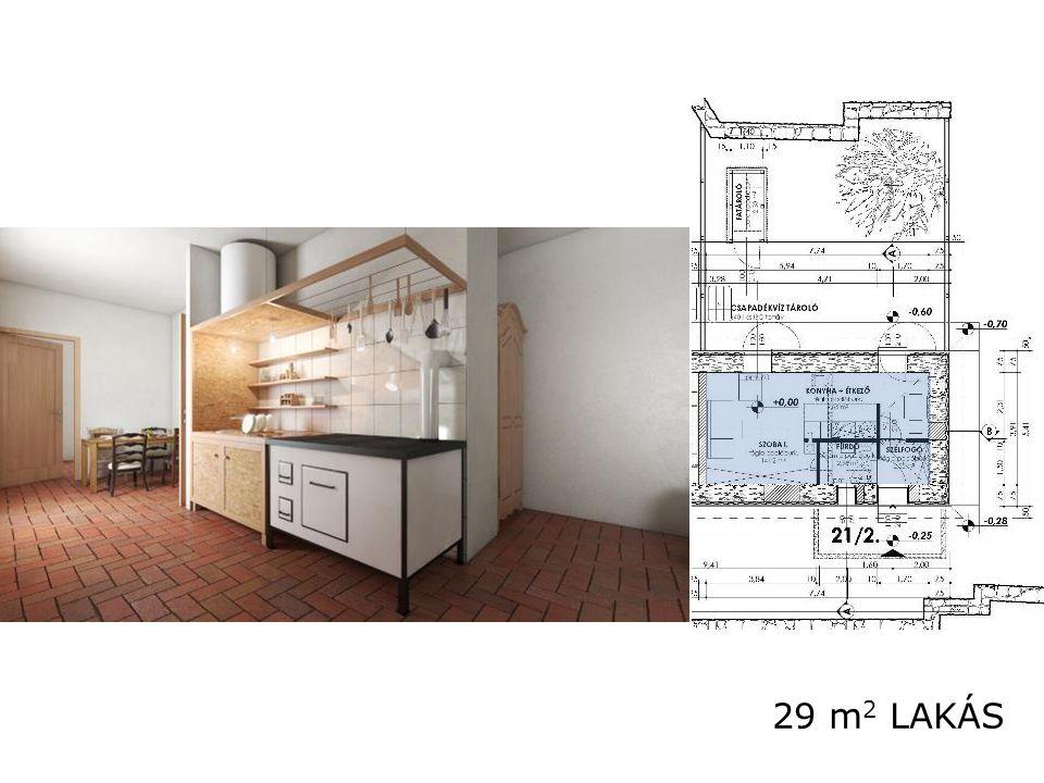 29 m2 LAKÁS