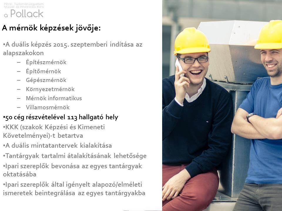 A mérnök képzések jövője: