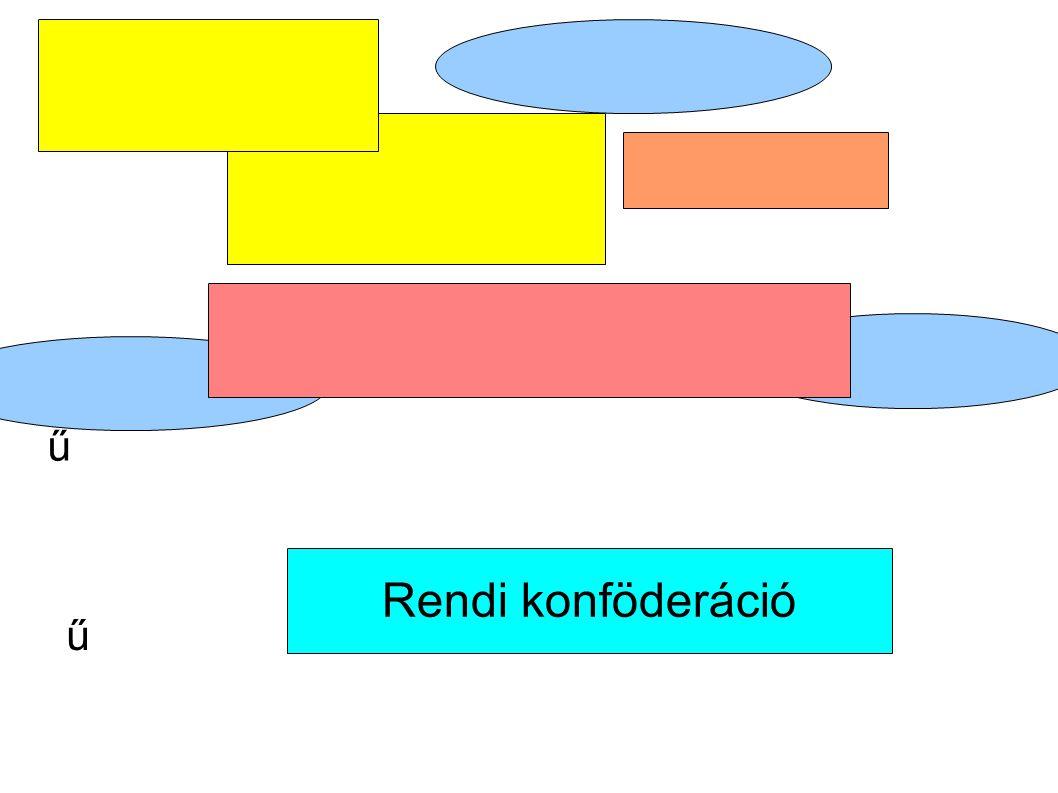 Ft: rendi konföderáció- a rendek szövetsége, melyet a szécsényi országgyűlésen kötöttek. A szövetkezett rendek a városokat és a vitézlő rendeket is magukba foglalták