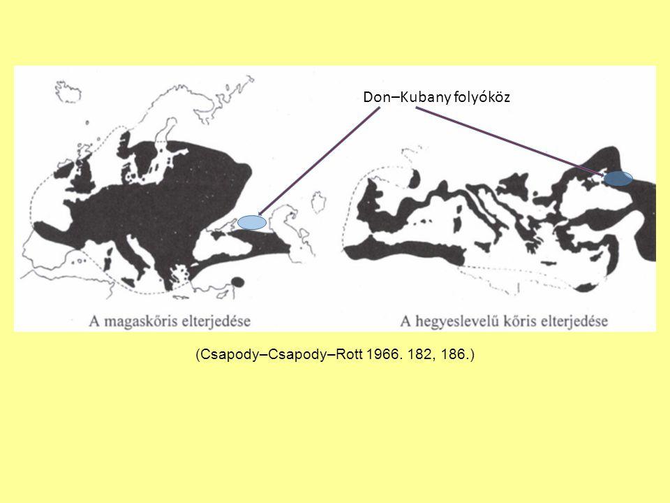 (Csapody–Csapody–Rott 1966. 182, 186.)